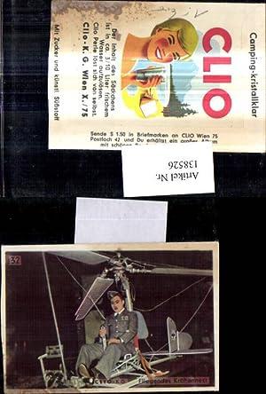 138526,Sammelbild Clio K.G. Wien Clio Perle Brausepulver