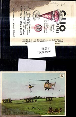 138589,Sammelbild Clio K.G. Wien Clio Perle Brausepulver