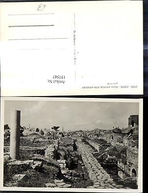 157547,Lazio Roma Rom Ostia Porta orientale della