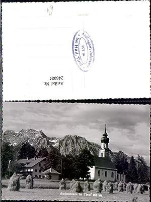 246084,Judenstein in Tirol Kirche Feld Ernte