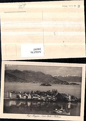 246597,Lago Maggiore Isola Bella e Pallanza Insel