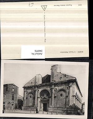 246978,Emilia-Romagna Rimini Il Tempio Malatestiano Kathedrale