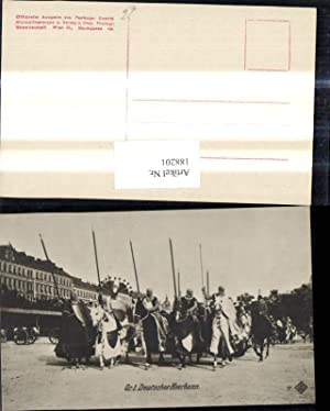 188201,Foto Ak Kaiser Huldigungs Festzug 1908 Adel
