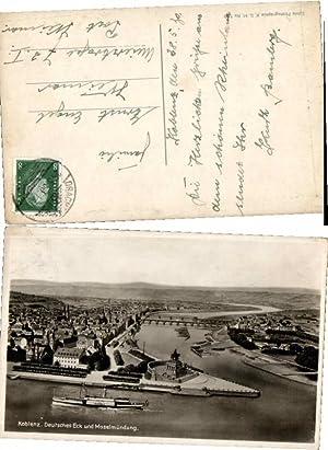 58469,Koblenz m. Dampfer Rheingold Moselmündung
