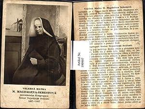 199997,Velebna Matka M. Magdalena Sebestova zakladatelka Kongregace