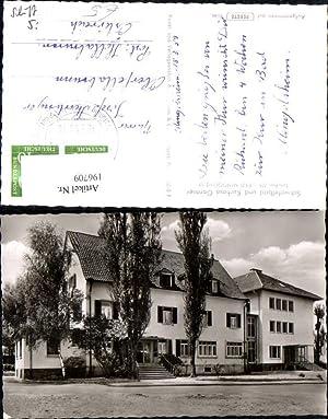 196709,Bad Mingolsheim Schwefelbad u. Kurhaus Gantner