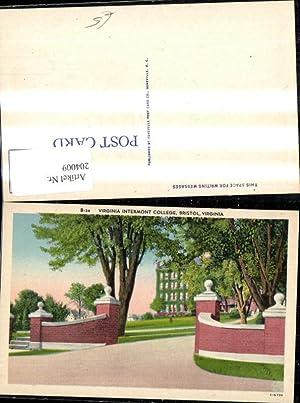 204009,Virginia Bristol Virginia Intermont College