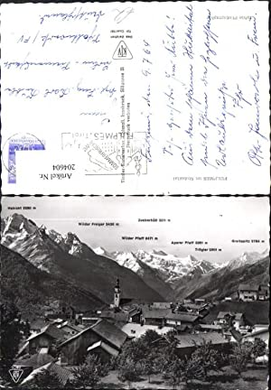204604,Fulpmes i. Stubaital m. Gipfelkarte