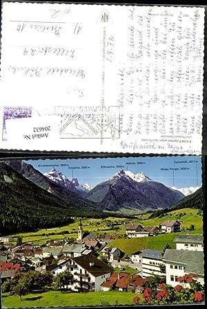 204632,Fulpmes geg. d. Pinnistal u. Stubaier Gletscher