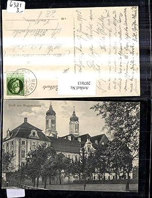 207013,Gruß aus Roggenburg Kloster Kirche