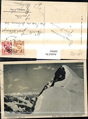 209965,Zuckerhütl Blick geg. d. Ötztalerferner b. Fulpmes