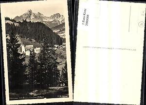 2000088,Filzmoos Teilansicht m. Bischofsmütze