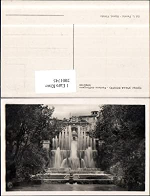 2001745,Tivoli Villa d'Este Fontana dell'organo idraulico Brunnen