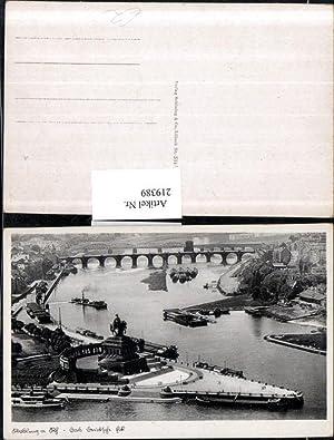 219389,Koblenz a. Rhein Das Deutsche Eck m.