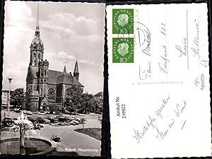 219822,Rheydt Hauptkirche Kirche Brunnen