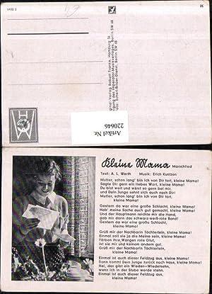 220646,Marschlied Lied Kleine Mama von A. L.