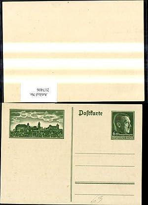 217406,WW2 Propaganda Ganzsache Reichsparteitag Nürnberg 1938