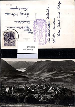 2002363,Mariazell Totale m. d. Hochschwab