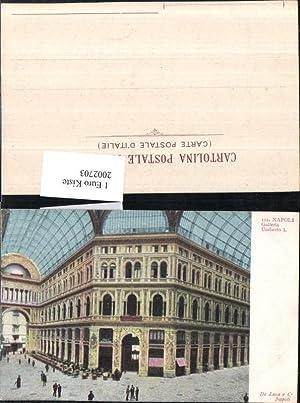 2002703,Napoli Neapel Galleria Umberto 1 Einkaufspassage