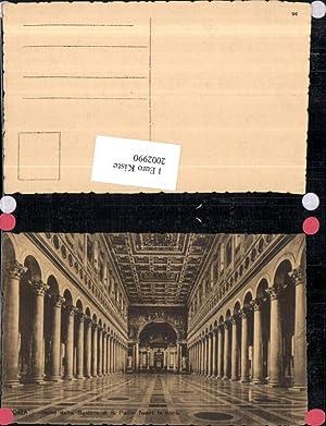 2002990,Roma Rom Interno della Basilica di San