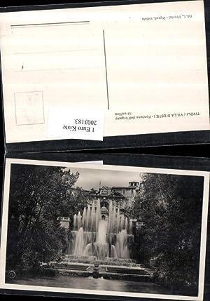 2003183,Tivoli b. Rom Villa d'Este Fontana dell'organo