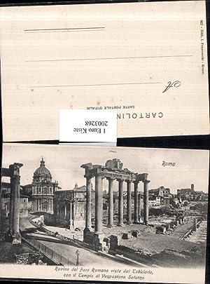 2003268,Roma Rom Rovine del Foro Romano viste