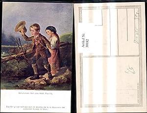 30182,Künstler Ak Joh. Math. Ranftl Kinder Tracht