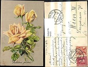 41421,Blumen Gelbe Rosen Srdecne prani