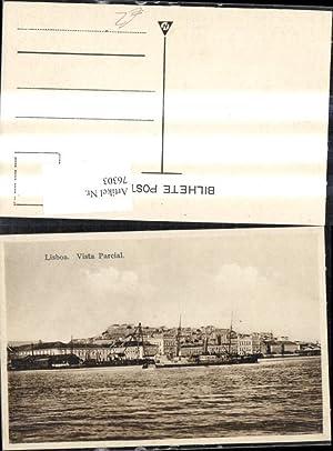 76303,Lisboa Lissabon Vista Parcial Schiff Dampfer