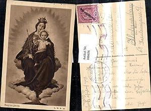 106656,Künstler Ak Regina pacis Heilige Maria m.