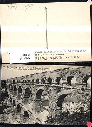 171310,Le Pont de Gard vue prise sur