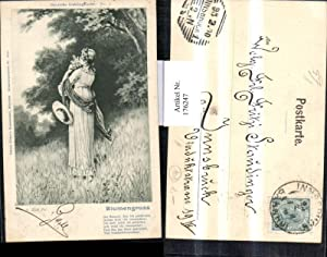 176247,Künstler AK sign. A. Zick fec. Gedicht