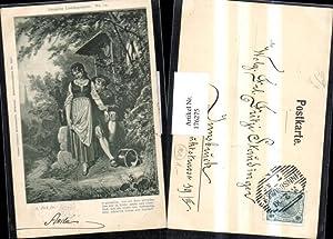 176275,Künstler AK sign. A. Zick fec. Gedicht