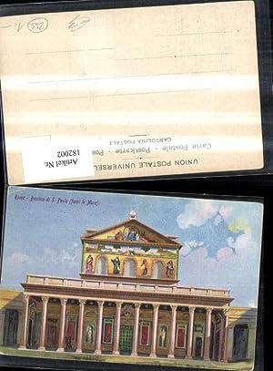 182002,Lazio Roma Rom Basilica di S. Paolo