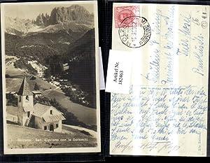 182463,Trentino Bolzano Bozen San Cipriano con le
