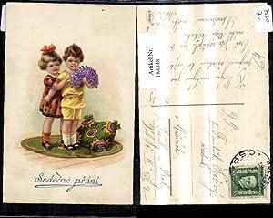 184348,Geburtstag Srdecne prani Kinder m. Blumen Teppich