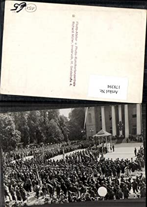 178394,FotoAK Innsbruck Fahnenweihe Veranstaltung