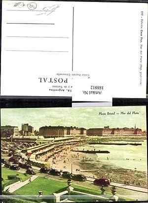 188812,Argentinien Mar del Plata Playa Bristol Strand
