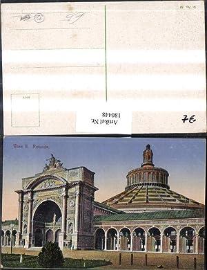 180448,Wien 2 Rotunde Gebäude Tor