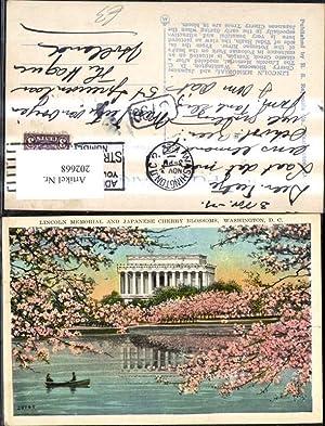 202668,Washington D. C. Lincoln Memorial and Japanese