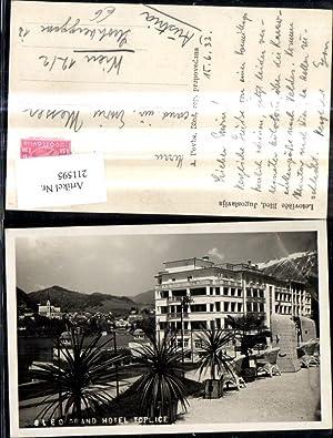 211595,Letovisce Bled Jugoslavija Grand Hotel Toplice