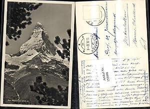155498,Matterhorn Zermatt 1932 Kt Wallis
