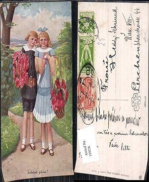 159226,T. Kroje Kinder Blumen Korb
