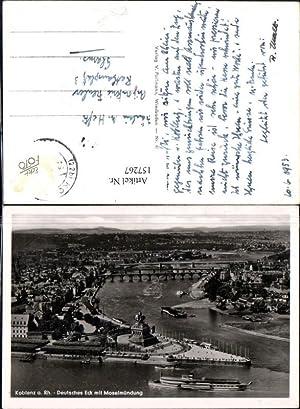 157267,Koblenz a. Rhein Deutsches Eck m. Moselmündung