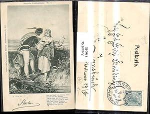 176248,Künstler AK sign. A. Zick fec. Gedicht