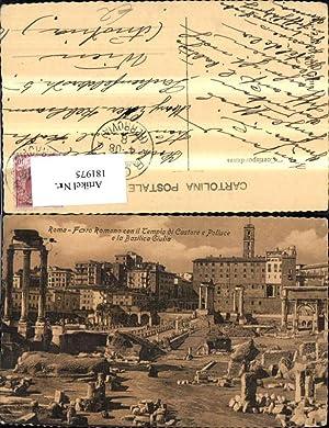 181975,Lazio Roma Rom Foro Romano con il