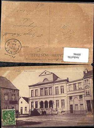 89946,Jumet Hotel Communal Frontansicht 1912