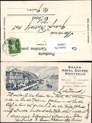 136894,Grand Hotel Suisse Montreux 1899 Kt Waadt