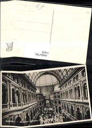 71433,Napoli Galleria Umberto I Innenansicht