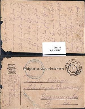 147845,K. K. Feldpost Krainburg Kranj Militärpflege Dirnberg